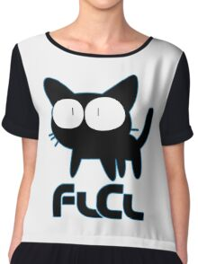 FLCL Fooly Cooly Anime Chiffon Top