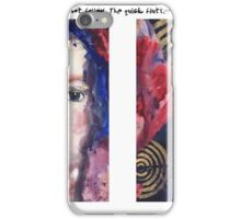 I Could Not Follow iPhone Case/Skin
