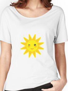 Smiling sun Women's Relaxed Fit T-Shirt