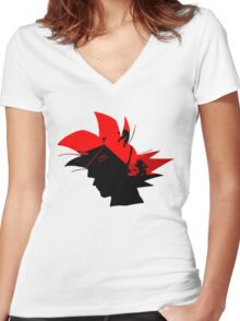 Kame House v2 Women's Fitted V-Neck T-Shirt