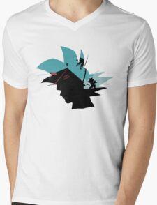 Kame House Mens V-Neck T-Shirt