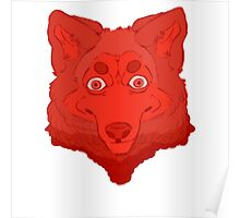 All Red Wolf  Poster