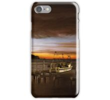 Behind the boatshed iPhone Case/Skin