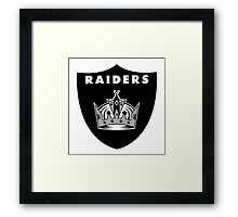 Oakland Kings - LA Raiders Framed Print