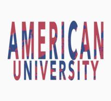 American University Baby Tee
