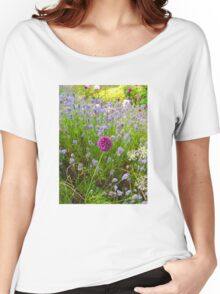 Study In Purple Women's Relaxed Fit T-Shirt