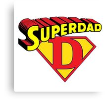Super Dad Canvas Print