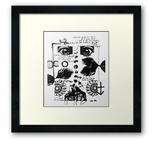 Man of the Day Framed Print
