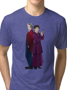 Missy and The Doctor Tri-blend T-Shirt