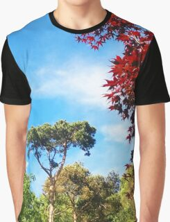Trees in the Backyard Graphic T-Shirt