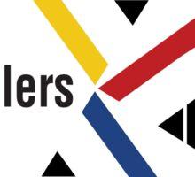 Pittsburgh Penguin Steelers Sticker