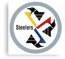 Pittsburgh Penguin Steelers Canvas Print