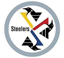 Pittsburgh Penguin Steelers Photographic Print