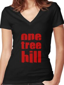 One Tree Hill Women's Fitted V-Neck T-Shirt
