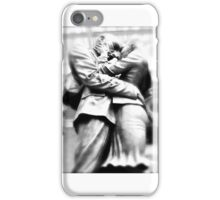 The Kiss, St Pancras Station, London iPhone Case/Skin
