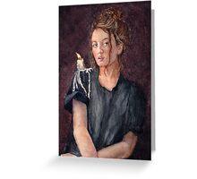 Zoe Alexandra Greeting Card