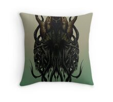 Skullthullu Throw Pillow