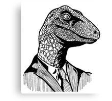 Business Raptor Canvas Print