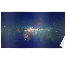 """""""Metropolitan"""" Milky Way Galaxy Poster"""
