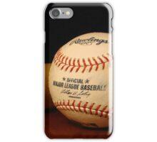Louisville Slugger and MLB Ball iPhone Case/Skin