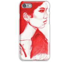 The Red Wheel iPhone Case/Skin