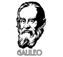 Galileo Galilei Scientist Photographic Print