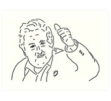 Jose Mujica: The world's 'poorest' president Art Print