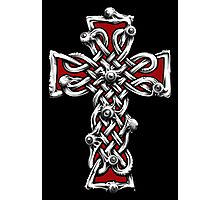 Celtic Cross with Eyes. Photographic Print