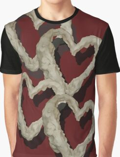 Four hearts Graphic T-Shirt