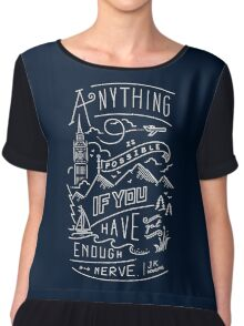 Anything is possible Chiffon Top