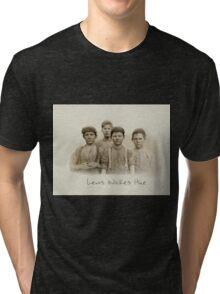 Doffer Boys in Macon, Georgia 1909 by Lewis Wickes Hine Tri-blend T-Shirt