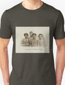Doffer Boys in Macon, Georgia 1909 by Lewis Wickes Hine Unisex T-Shirt