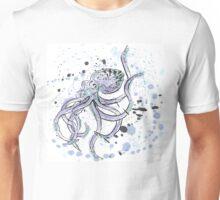 Inky Octopus Unisex T-Shirt