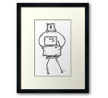 Eight the robot Framed Print