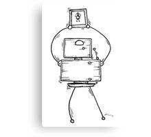 Eight the robot Canvas Print