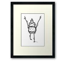 i the robot Framed Print