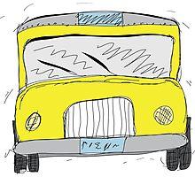 School Bus Photographic Print