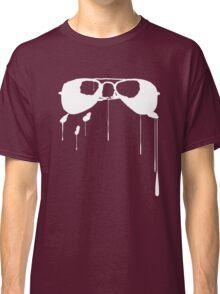 Splatter Sunglasses (white) Classic T-Shirt