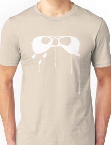 Splatter Sunglasses (white) Unisex T-Shirt