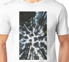 Pine Trees from Below Unisex T-Shirt