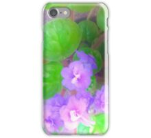 Violets are blue? iPhone Case/Skin