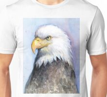 Bald Eagle Painting Watercolor Unisex T-Shirt