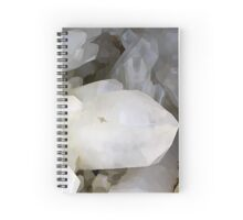 Quartz Crystal painting Spiral Notebook