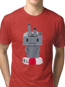 Rensouhou Kantai Collection Shimakaze Pixel Art Tri-blend T-Shirt