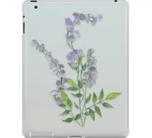 Purple Tiny Flowers iPad Case/Skin