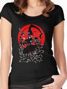 Uchiha Itachi Mangekyou Women's Fitted Scoop T-Shirt