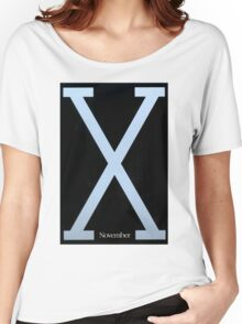 Malcolm X Movie Poster Women's Relaxed Fit T-Shirt