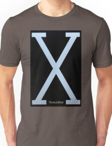 Malcolm X Movie Poster Unisex T-Shirt