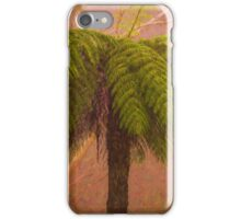 In The Mist - Mount Wilson and Mount Irvine NSW Tree Fern  - The HDR Experience iPhone Case/Skin