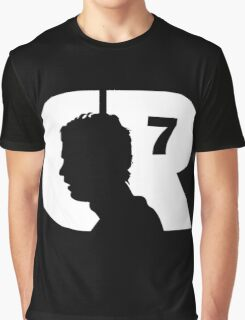 Cristiano Ronaldo CR7 Football Player Graphic T-Shirt